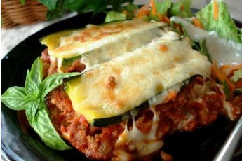 Zucchini Lasagna: The Low-GI Version