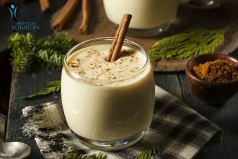 Healthy Holiday Eggnog Recipe from TLS