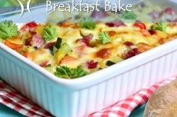 Recipe: Turkey Sausage & Bell Pepper Breakfast Bake